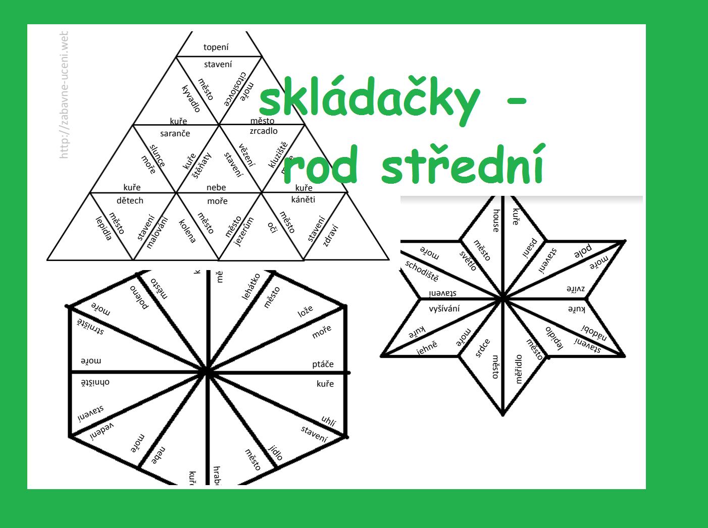 Skladacky Rod Stredni